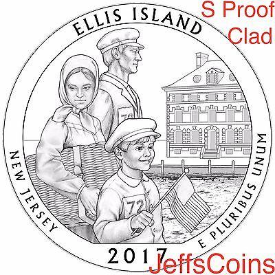 2017 S Park Quarters 225th Enhanced ATB 5 Coins via U.S.Mint Set Box COA Incl. 4