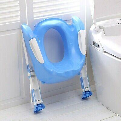 Children Baby Toddler Kid Potty Training Toilet Seat Trainer Urinal Chair Ladder 8