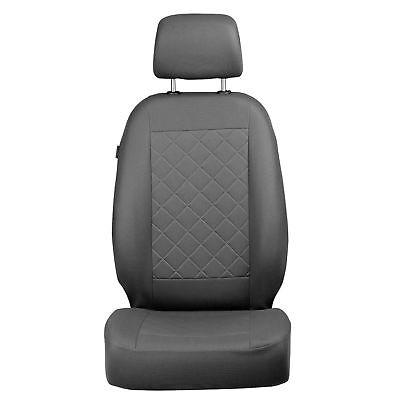 Grauer Velours Sitzbezüge für FORD FOCUS Autositzbezug Komplett