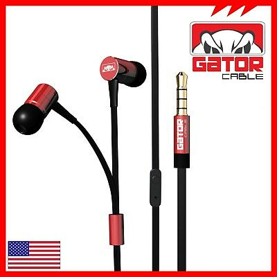 Earphones Headphones Headset Earbuds In-Ear Bass Stereo Hi-Fi with MIC Wired 10