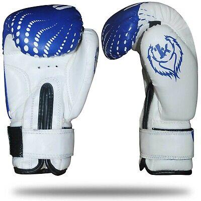 2oz 4oz 6oz Kids Boxing Gloves Junior Mitts Punch Bag Children Gel Pad Gloves 6