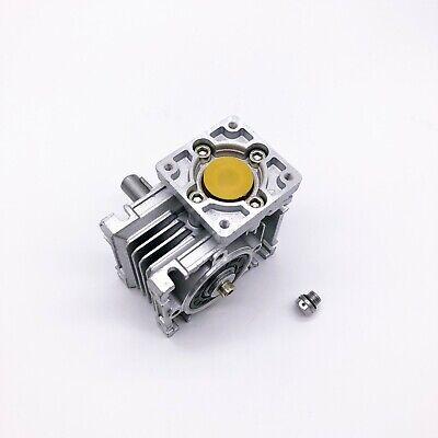 5:1 Worm Gear Reducer Speed Gearbox NMRV030 for NEMA23 Sevor / Stepper Motor 4