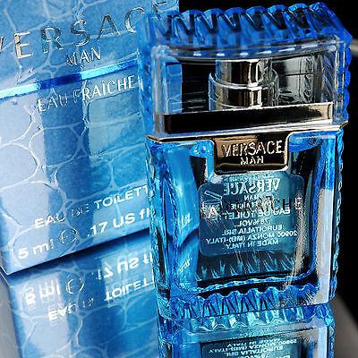 Versace Perfume Man Eau Fraiche Eau De Toilette Mini Parfum Mens