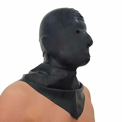 Latex-Hangman's Henker Maske aus Gummi, Einheitsgröße 5