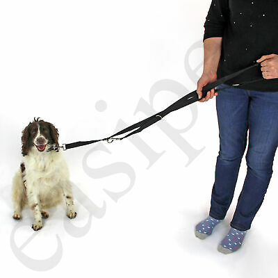 Dog Lead Police Style Leash Multi-Function Double Ended Obedience Training 10