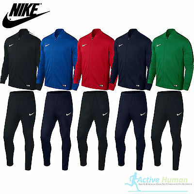 MENS NIKE TRACKSUIT Full Zip Jogging Football Top Bottoms Jacket Pants S M L XL 2