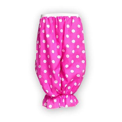 CHILD Fancy Dress BLOOMERS Polka Dot Pants Rag Doll Panto DAME Costume Clown UK