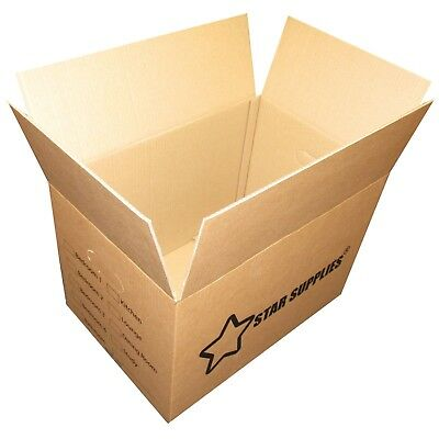 15 x Premium Large Double Wall Cardboard Boxes Moving/Packing Storage Boxes NEW 2