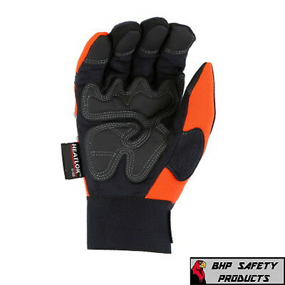 Warm Insulated Waterproof Winter Work Gloves Majestic Mfg Armorskin Winter Hawk