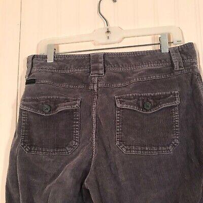 COLUMBIA Women's Sz 10 Grey Corduroy Pants 6