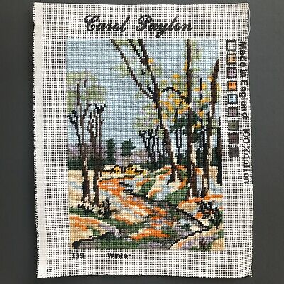 Job Lot Vintage Carol Payton Royal Paris Embroidery Needlepoint Tapestries 9
