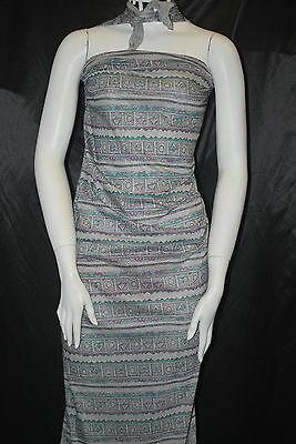 Modal 100/% Knit Jersey Fabric Ecofriendly   Multi Color Tribal flower Print 6oz