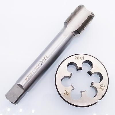 New1pc HSS M18 X 1mm Plug Left Tap and 1pc M18 X 1.0mm Left Die Threading Tool