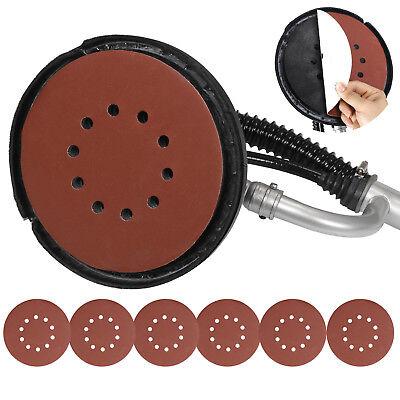 Electric 800W Variable Speed Drywall Sander w/ Vacuum Hose & Sander Discs 6
