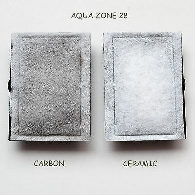 5 X Bj Filters Compatible Aqua Zone 28 - Carbon / Ceramic Kits  6 Months Supply 6