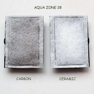 5 X Bj Filters Compatible Aqua Zone 28 - Carbon / Ceramic Kits  6 Months Supply 6