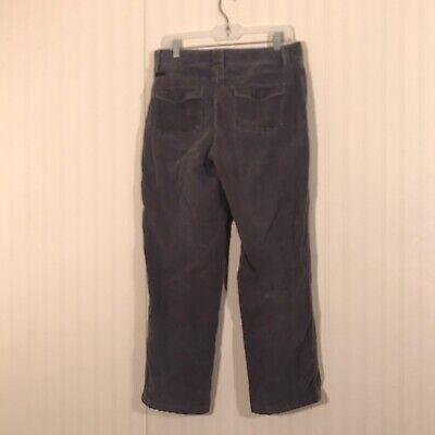 COLUMBIA Women's Sz 10 Grey Corduroy Pants 5
