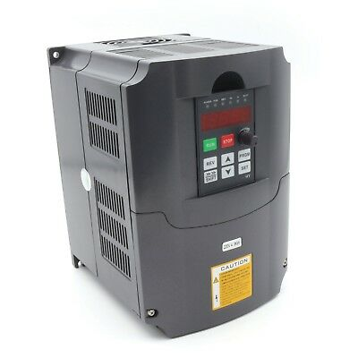 5HP 4KW VFD Frequenzumrichter CNC Variable Frequency Driver Inverter Low Output