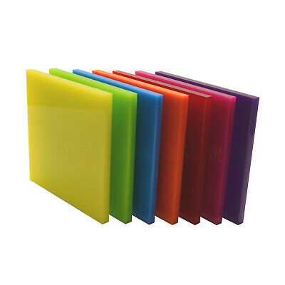 3mm Acrylic Perspex® Plastic Cut to Size Sheet / 100+ Colours / A3 A2 + Custom 5