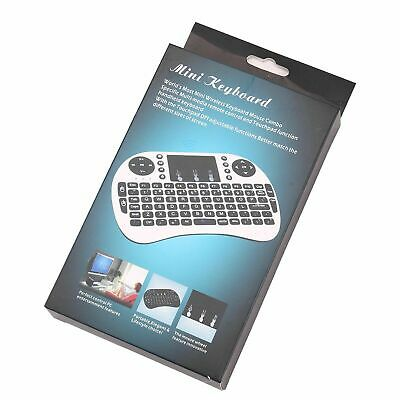 Wireless Mini Keyboard i8 Air Mouse Keypad Remote Control Android TV Box 2