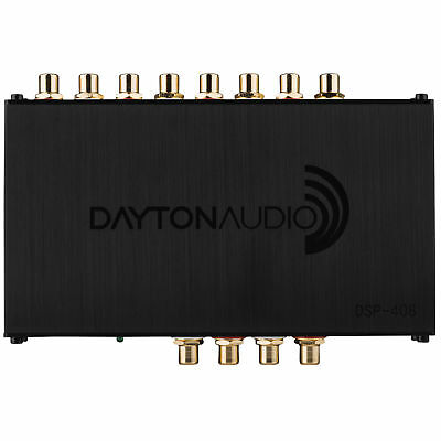 Dayton Audio DSP-408 4x8 DSP Digital Signal Processor for Home and Car Audio 5