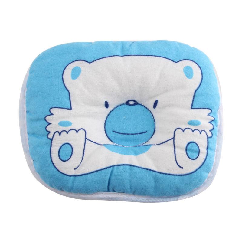 Bear Pattern Baby Pillow Newborn Infant Comfortable Cushion Prevent Flat Head 7