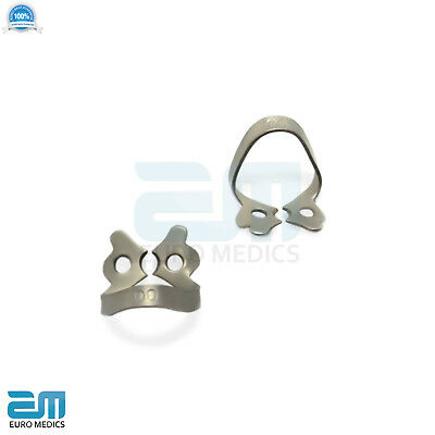 Dental Rubber Dam Clamps Molars Tooth Isolation Dentist Endodontic Instrument CE 9