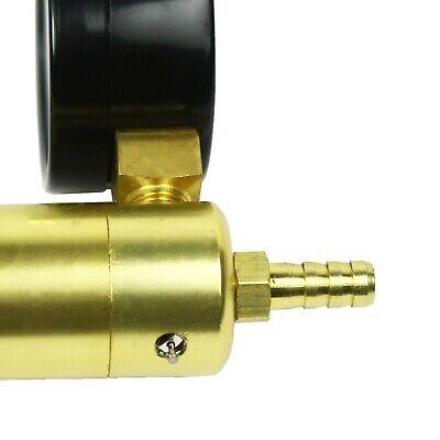 2 In 1 Brake Bleeder & Vacuum Pump Gauge Test Tuner Kit Tools DIY Hand Tools US 9