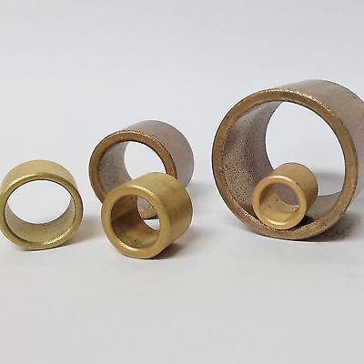 Sinterbronze Buchse mit Bund Dr 12//17//22 x 12 mm Gleitlager für 12 mm Welle
