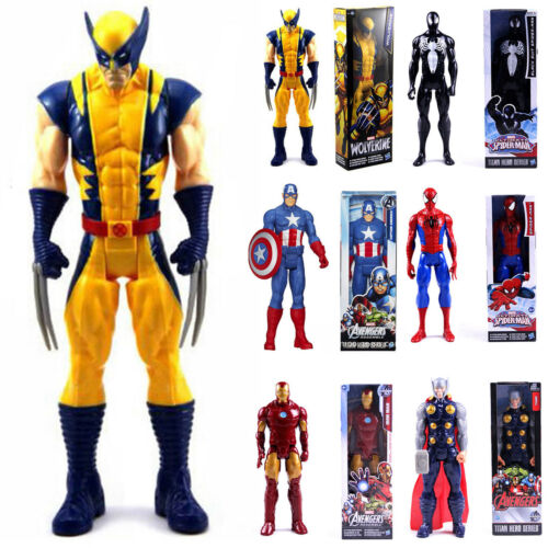 30cm Marvel The Avengers Superheld Spiderman Action Figur Figuren Iron Man Thor 2