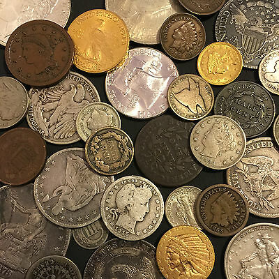 ✯Estate Sale Lot Old Us Coins✯ Money✯Gold Silver✯Big Value Collection 50 Years+✯ 5