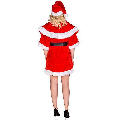 f758147acb7f9 ... Déguisement de Mère noël santa claus elfe lutin pour femme costume  carnaval fête 2