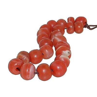 (2362) Bracelet of Pema Raka Nan Hong Beads   楠香串珠 6