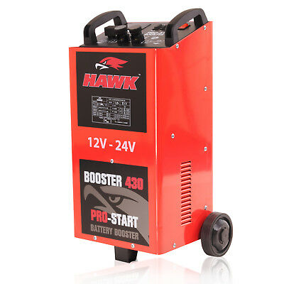 2000W 12V 24V 400a AMP CAR VAN 4X4 BATTERY CHARGER GARAGE JUMP START STARTER KIT 3