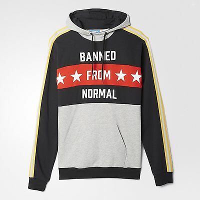 17b9f866b4 ... Adidas Originals RITA ORA Banned From Normal Hoody Track Top Size 6 8 10