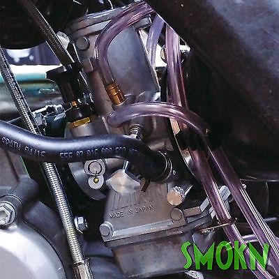 Yamaha YZ 125 Mikuni TMX Easy Adjust Carb Carburettor Idle Tick Over Screw Blue