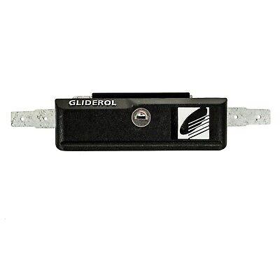 Roller Door Lock Gliderol With Faceplate & Keys Suits Garage Roller Doors B&D 9