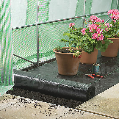 4ft weed control fabric garden landscape membrane ground cover driveway barrier