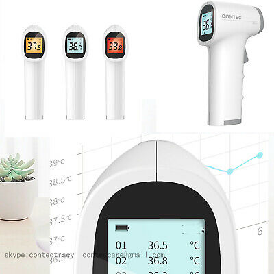 IR Infrared Digital Forehead Thermometer Non-Contact Baby Adult Body Thermometer 5