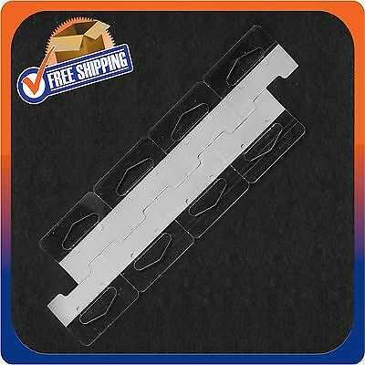 5000 Clear Self Adhesive Heavy Duty Slot Hang Tab Tags 19Oz Limit Retail Hangers 4