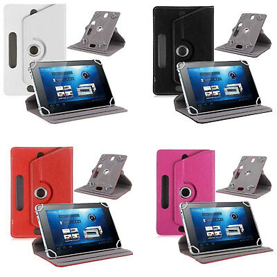 """360 Cover Custodia Protettiva In Pelle Pieghevole Pr Tablet Universale 7"""" -10.1"""" 2"""