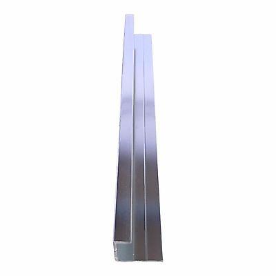 Aluminium Trims For 10mm Shower Wall Panels Bathroom End Cap Corners H Join 2.4m 4