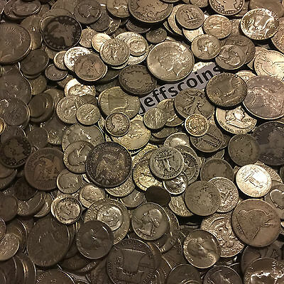 ✯1 Ounce OZ 90% SILVER US COINS $✯OLD ESTATE SALE LOT HOARD✯ BULLION +FREE GOLD✯ 8