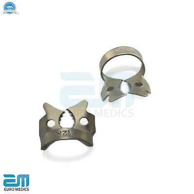 Dental Rubber Dam Clamps Molars Tooth Isolation Dentist Endodontic Instrument CE 2