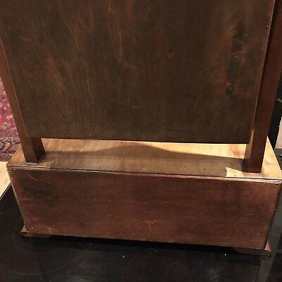 George 1st Ladys Walnut Dressing Mirror With Draws Stand 11