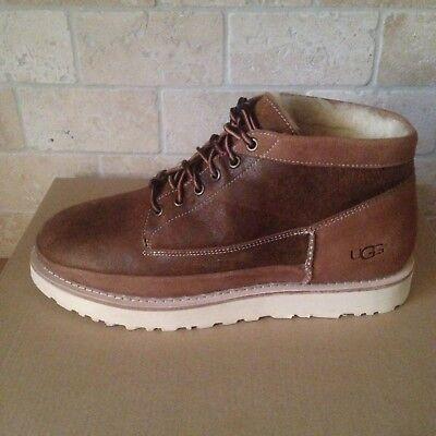 d1319202a94 UGG CAMPFIRE TRAIL Boots Shoes Chestnut Bomber Sheepskin Size Us 8 Mens