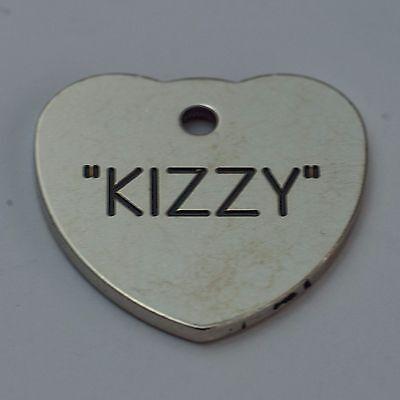 qualité Etiquette gravée pour animaux de compagnie Mini 20mm Coeur 3
