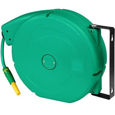 Enrouleur automatique de tuyau d'arrosage pour jardin Tuyau d'eau inclus 20 m 2