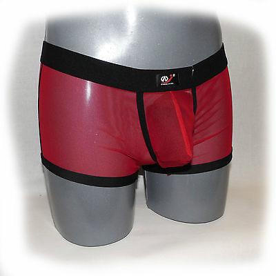 WJ - Boxer Schwarz Transparent Size XL - extra heiß -  (558) 4