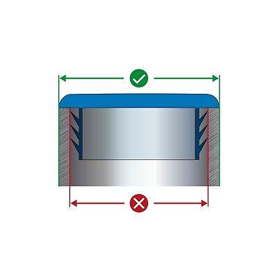 10x30 mm Lamellenstopfen Rechteckrohr Stopfen Rohrstopfen rechteckig Rechteck